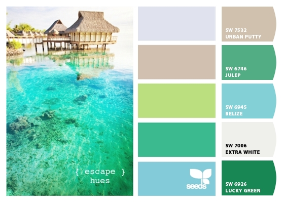 Tropical Paint Colors Interior Design