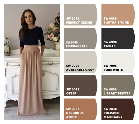 SW 6073 Perfect Greige 9168